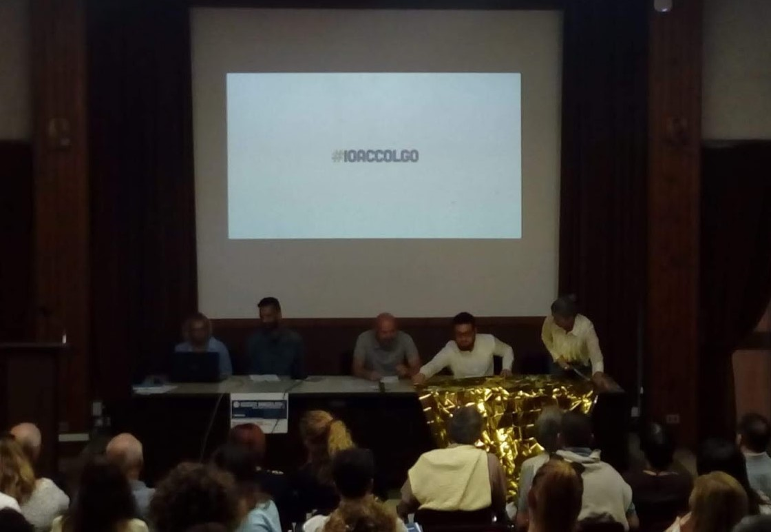 Presentazione della campagna #IOACCOLGO